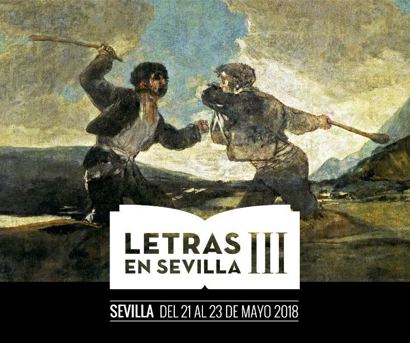 Detalle del cartel de Letras en Sevilla III