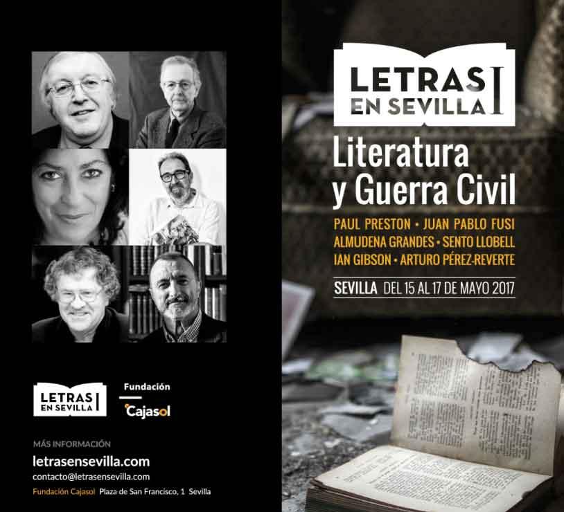 Cartel Letras en Sevilla